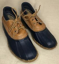 Vintage 90s LL Bean Duck Maine Hunting Low Shoe Boots Shoe Maine USA Women 9 M