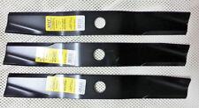 """Set 3 Kubota 60"""" heavy duty XHT mower blades 70000-00606 75000-25001 76539-34330"""