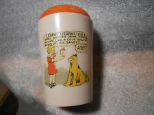 Vintage Ovaltine Orphan Annie Shaking Cup With Lid