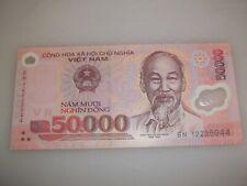 VIETNAM DONG 50,000 BANKNOTE  2012-2017 POLYMER BILL, UNCIRCULATED