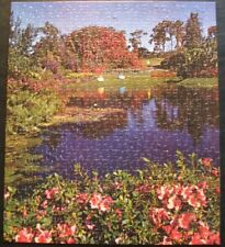 Vintage Whitman Deluxe Guild 500 pc.puzzle #B4615-240 'Cypress Gardens' COMPLETE