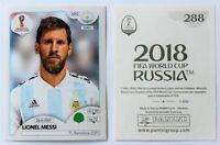 Panini WM 2018 - Sticker Lionel Messi # 288 Argentina - RARE