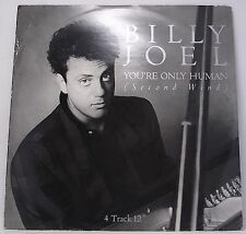 "BILLY JOEL : YOU'RE ONLY HUMAN Single 12"" Vinyl 45rpm VG+"