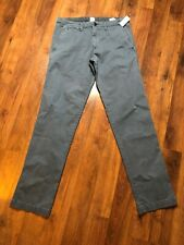 GAP Blue Gray Khaki Pants Chino Mens Size 31 X 34 NEW NWT Straight Fit