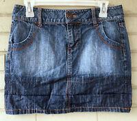 Wear It Declare It Denim Size 5 100% Cotton Short Jean Skirt
