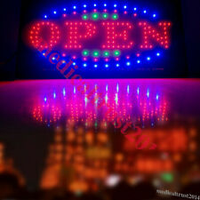 Led Light Board Store Open Business Sign Animated Flash Motion Shop Bar Coffee