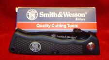 Smith & Wesson Swretb - Black Drop Point Folder