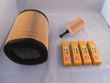 Peugeot 106 1.4 Petrol Service Kit Oil + Air Filter Spark Plugs 1998-2003 OPT1