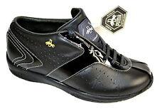 PUMA Rudolf Dassler Schuhfabrik Leder Gr.37 UK4 NEU Damen Schuhe Sneaker schwarz