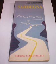 Sardinien Italien in Auto 1964 Touring club Italienisch Fahren Reisen Tourismus