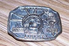 Statue of Liberty Belt Buckle 100 Years of Liberty 1886 1986 Centennial Souvenir