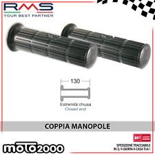 COPPIA MANOPOLE NERE PER PIAGGIO VESPA P 125 X 1977 1978 1979 1980 1981 1982