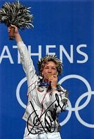 Marija Grosdewa ( Bul ) Olympia 2004 - Disparar - Oro - Foto - Orig. Firma