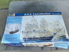 Revell 1:96 Uss Constitution Plastic Model Kit - New Damaged Box