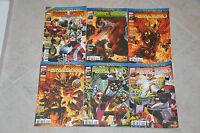 Lot 6 albums MARVEL HEROES série HEROIC AGE n°1 2 3 4 5 6 - Marvel Panini Comics
