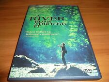 A River Runs Through It (DVD, 1999, Full Frame/Widescreen) Brad Pitt Used
