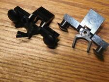 LEGO Train : lot 2x  tampon aimant wagon - ref 4022c02 ( 4022 / 2920 / 73092 )