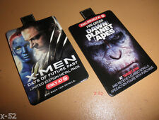 X-MEN Days of Future Past + DAWN of PLANET of the APES target USB plug in CARDS