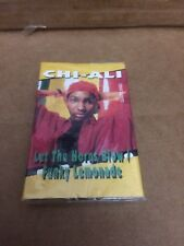CHI ALI LET THE HORNS BLOW ~ LEMONADE   FACTORY SEALED CASSETTE SINGLE 7