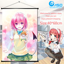 Anime Wall Scroll Poster To LOVE Ru Darkness Momo Art Home Decor collection Gift