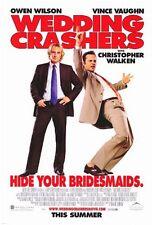 WEDDING CRASHERS - 2005 - original 27x40 D/S movie poster- STYLE B - OWEN WILSON