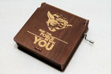 Star Wars Music Box - May The Force Be With You Yoda -Star Wars Main Title Theme