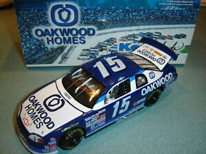 KEN SCHRADER AUTOGRAPHED 1999 OAKWOOD HOMES Chevy #15 Action 1/24 Preowned