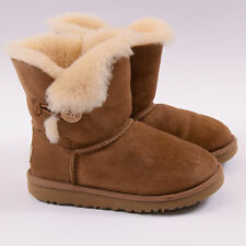UGG Mädchen Kinder Stiefel Boots Schuhe Shoes Gr.31 Bailey Button Boot 86532