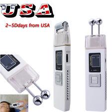 Microcurrent Galvanic Facial Firm Lift Anti-aging Face Massager Machine Skin SPA