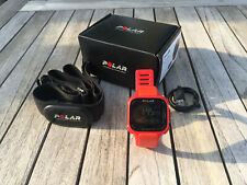 Polar RC3 GPS Heart Rate Sensor Uhr rot/orange
