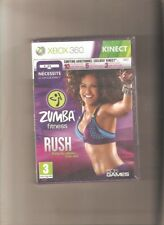 Rare !!! ZUMBA FITNESS RUSH Edition Spéciale  X BOX 360 KINECT. NEUFBlister