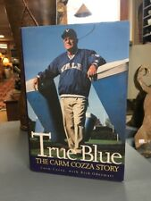 "1999 ""True Blue: The Carm Cozza Story"" SIGNED Yale football coach book"