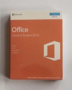 Microsoft Office 2016 Home & Student Italian Edition Sealed