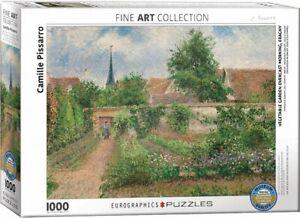 Vegetable Garden Overcast Pissarro 1000 piece jigsaw puzzle 680mm x 480mm (pz)