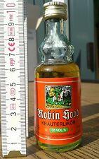 Mini-Schnapsflasche Schlucki Robin Hood Kräu älter 30 Jahre Rarität sehr alt #03
