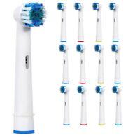 12 x Testine Di Ricambio Per Oral-B Spazzolino Elettrico 3D Precisione Pennello