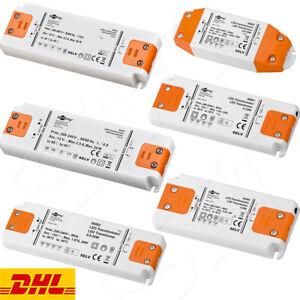 LED Transformator LED Trafo 12V DC SMD Treiber Driver 0,5W - 50W G4 MR16 .Lampen