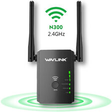 N300 Wireless WIFI Repeater Router Range Extender AP Booster 2 External Antenna