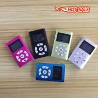 """32GB MP3 MP4 Player 1.8"""" LCD Music Media FM Radio Video + Mini USB Metal N5N9"""
