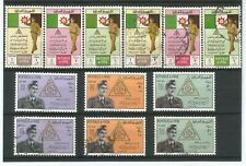 Stamps IRAQ (1962) Army Day 2 complete sets MNH & Used SG 572-577