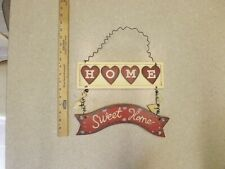 """Home Sweet Home Wooden Hand Painted Sign """"Home Sweet Home"""" Wooden Sign"""