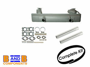 VW EXHAUST SILENCER KIT TAIL PIPE & FITTINGS T1 BEETLE 1200 111251051H A585