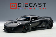 AUTOART 75401 HENNESSEY VENOM GT SPYDER, MATT CARBON BLACK 1:18TH SCALE