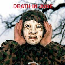 DEATH IN JUNE Euro Cross LP TRANSPARENT ORANGE VINYL 2017 LTD.700