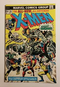 X-Men #96 1st Appearance Moira MacTaggert Marvel Comics FN