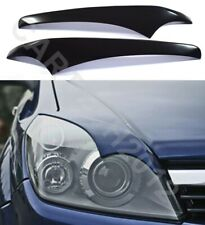 """Fits Vauxhall Opel ASTRA H  2004-2009 Headlamps EYEBROWS ver2 """"Bad Look"""""""
