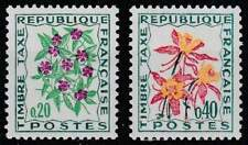 Frankrijk postfris Port 1971 MNH 104-105