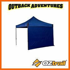 OZTRAIL FIESTA DELUXE GAZEBO 3M SOLID WALL KIT - BLUE-