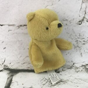 Gund Classic Pooh Disney Finger Puppet Plush Soft Toy Rare Collectible