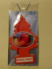 Little Trees Hanging Air Fresheners, Peachy Peach, Car, Home, Office, 1 Piece